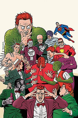 Jimmy Olsen - Cover art for Superman: The Amazing Transformations of Jimmy Olsen, by Brian Bolland.