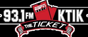 KTIK (AM) - Image: KTIK logo