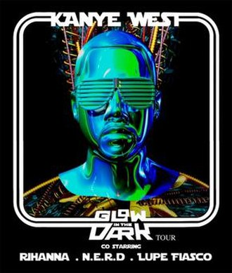 Glow in the Dark Tour - Image: Kanye West Glow in the Dark Tour poster