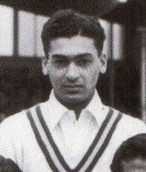 Khalid Hasan (cricketer) - Khalid Hasan in 1954
