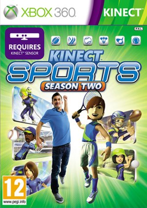 Kinect Sports: Season Two - Image: Kinect Sports Season Two