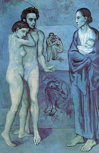 La Vie (painting) - Image: La Vie by Pablo Picasso