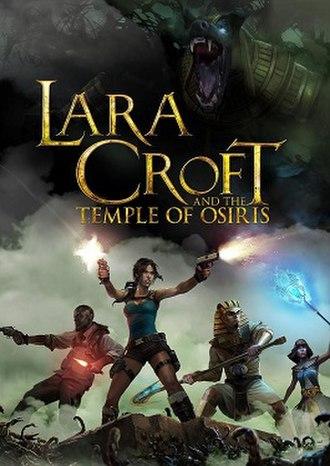Lara Croft and the Temple of Osiris - Image: Lara croft and the temple of osiris art