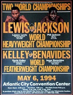 Lennox Lewis vs. Phil Jackson Boxing competition