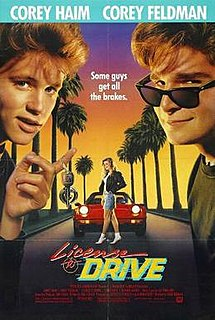<i>License to Drive</i> 1988 film by Greg Beeman