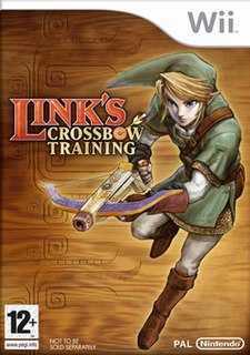 <i>Links Crossbow Training</i> video game