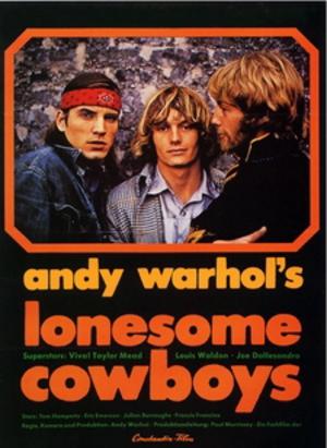Lonesome Cowboys - original film poster