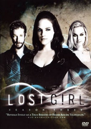 Lost Girl (season 3) - DVD cover