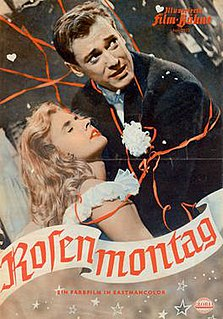 <i>Loves Carnival</i> (1955 film) 1955 film directed by Willy Birgel