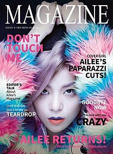Magazine ep wikipedia ep by ailee stopboris