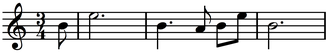 Symphony No. 10 (Shostakovich) - The ape call from the first movement of Das Lied von der Erde