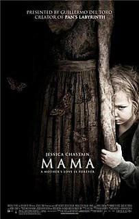 <i>Mama</i> (2013 film) 2013 supernatural horror film by Andrés Muschietti