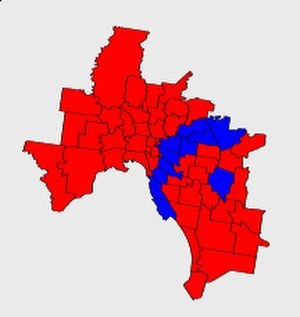 Victorian state election, 2002 - Image: Melb districts pol 3