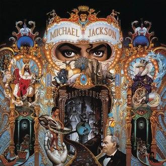 Dangerous (Michael Jackson album) - Image: Michaeljacksondanger ous
