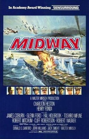 Midway (film) - Original theatrical release poster