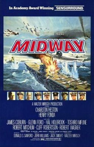 Midway (1976 film) - Original theatrical release poster