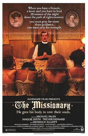 The Missionary - American theatrical release poster