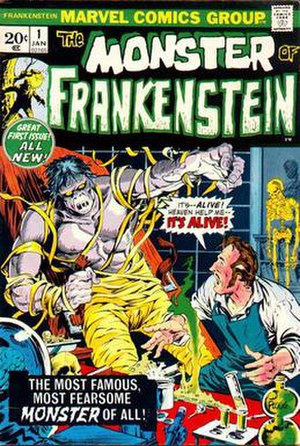 Frankenstein's Monster (Marvel Comics) - Image: Monster Of Frankenstein 1