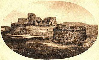 Skanderbeg's Italian expedition - Image: Monte sant'angelo castle old