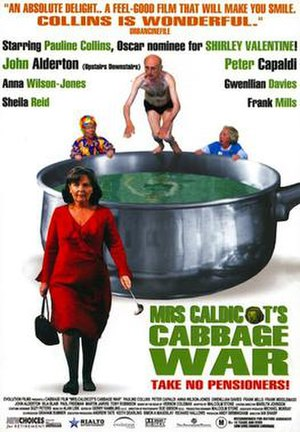 Mrs Caldicot's Cabbage War - Original cinema poster
