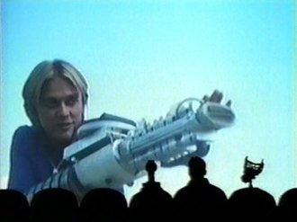 Laserblast - Laserblast was featured in the seventh-season finale episode of Mystery Science Theater 3000.