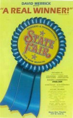 State Fair (musical) - Original Broadway poster (1996)