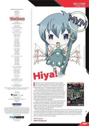 MyM - MyM mascot Mya Tenshi in Issue 30
