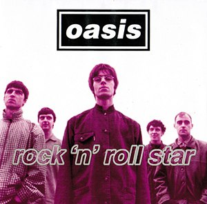 Rock 'n' Roll Star - Image: Oasis Rockand Roll Starcover