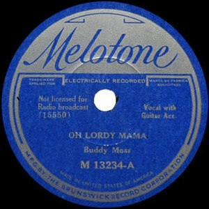 Hey Lawdy Mama (blues song) - Image: Oh Lordy Mama single cover