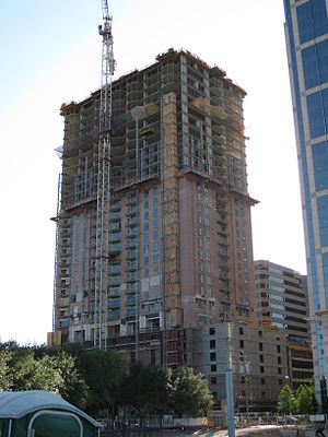 One Park Place - Image: One Park Place Houston Construction