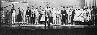 Ozark Jubilee - Ozark Jubilee cast at the Jewell Theatre, 1956