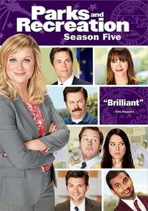 Parks and Recreation (season 5) - Region 1 DVD cover art