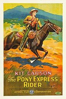 <i>Pony Express Rider</i> (1926 film) 1925 silent film