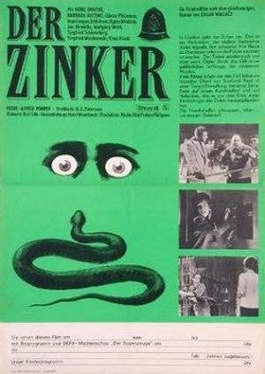 The Squeaker (1963 film) - Film poster for Der Zinker