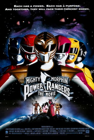 Mighty Morphin Power Rangers: The Movie - Theatrical release poster