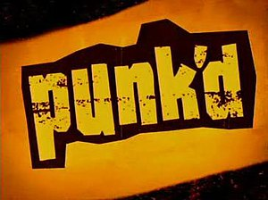 Punk'd - Original series title card (2003–05)