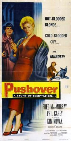 Pushover (film) - Theatrical release poster