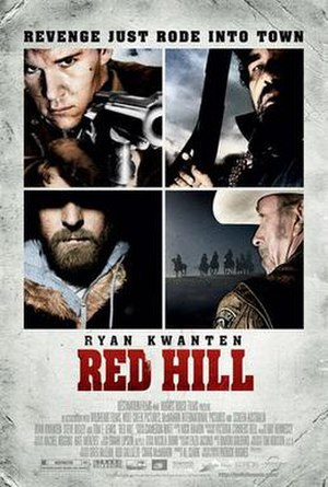 Red Hill (film) - Theatrical release poster