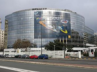 Renault - Renault headquarters in Boulogne-Billancourt, France