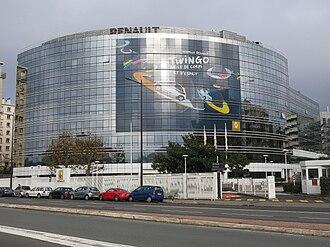 Renault - Renault headquarters in Boulogne-Billancourt, France