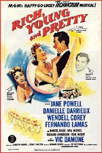 Rich, Young and Pretty - Theatrical release poster