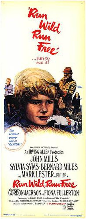 Run Wild, Run Free - Theatrical film poster