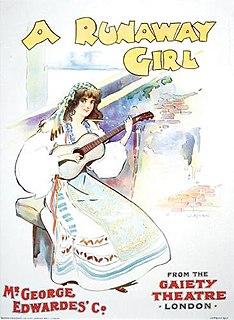 <i>A Runaway Girl</i> musical