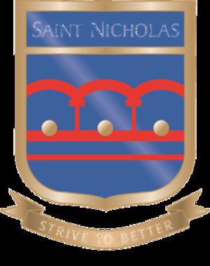 Saint Nicholas School, Essex - Image: Saint Nicholas School Crest