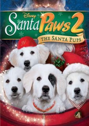 Santa Paws 2: The Santa Pups - Video release cover
