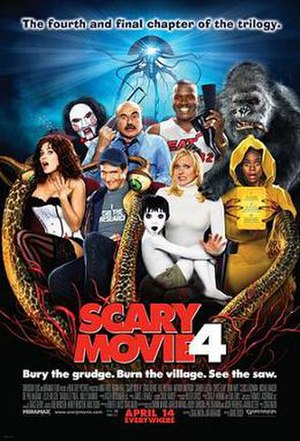 Scary Movie 4 - Theatrical release poster