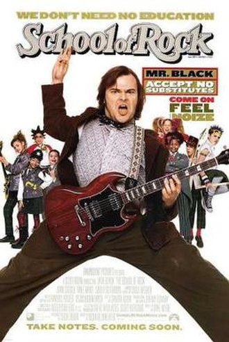 School of Rock - Theatrical release poster