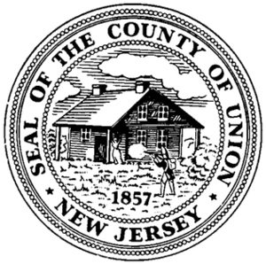 James Caldwell (clergyman) - Image: Seal of Union County, New Jersey