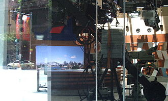 ATN - The set used for Seven News