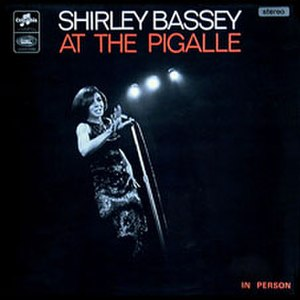 Shirley Bassey at the Pigalle